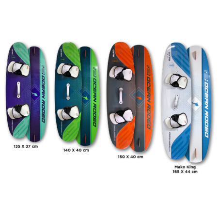 2018 Ocean Rodeo Mako Size Preview