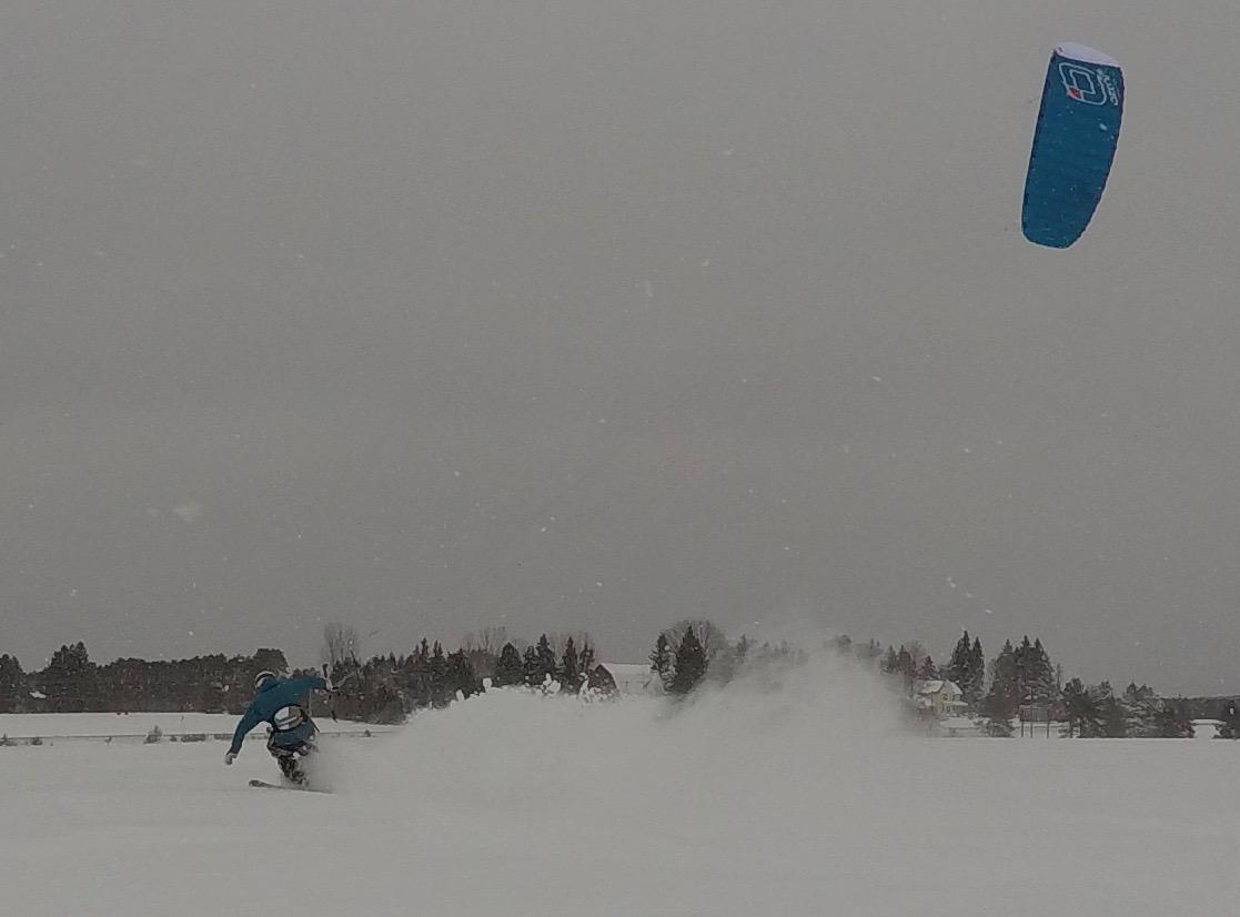 Michigan Snowkite Lessons