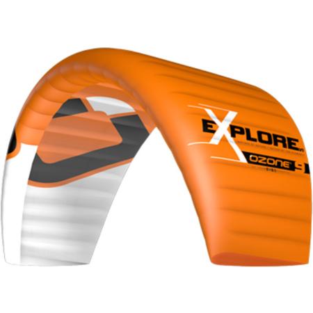 Ozone Explore V1 Snow Kite Orange