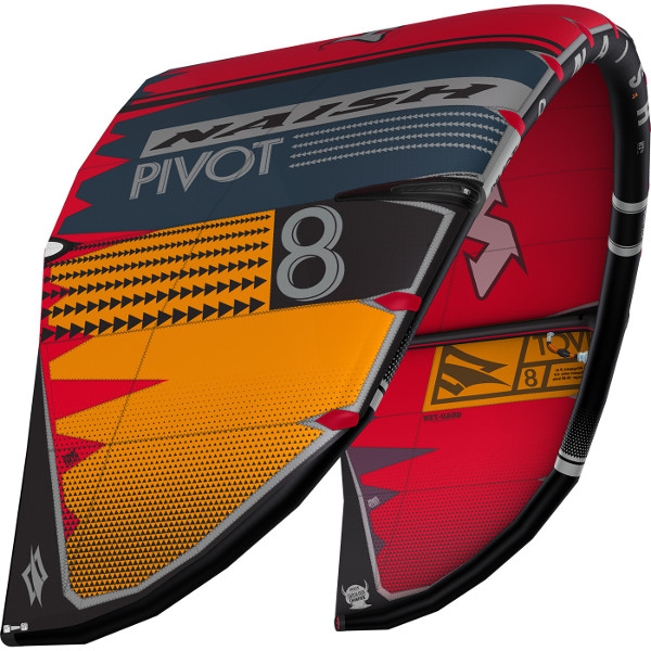 2020 Naish Pivot Kite Red Grey Orange
