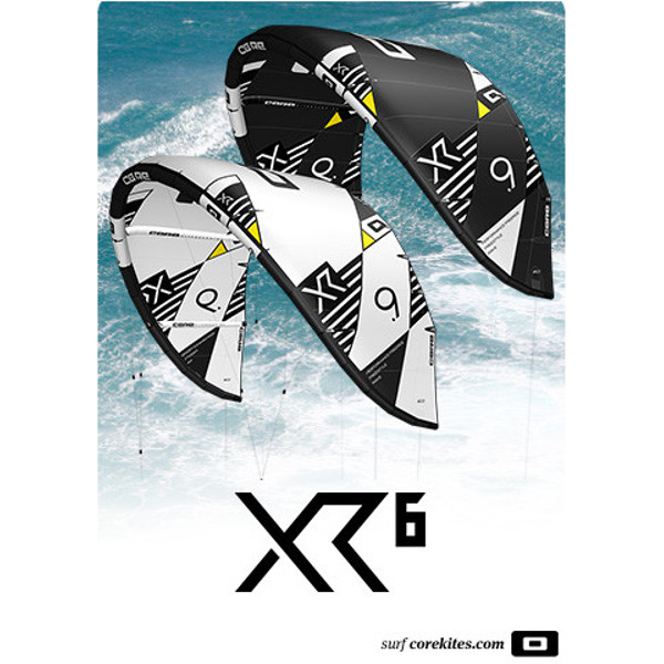 2020 Core XR6 Kite White Black