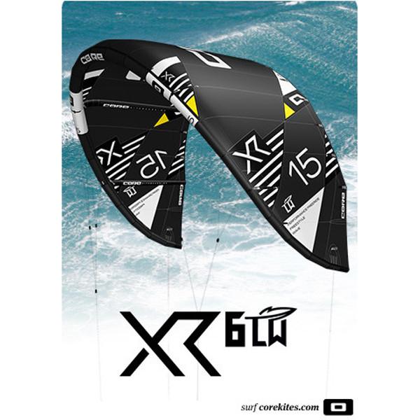 2020 Core XR6 Light Wind Kite Black
